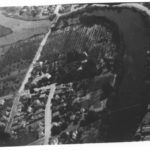 "Aerial view of Barson's Riverside Hotel and orchards, Santa Cruz, California, ca. 1920s (via <a href=""https://people.ucsc.edu/~rosewood/riverside/neighborhood/before1945.html"">Linda Rosewood</a>)"